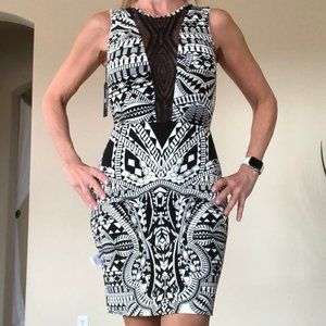 Tart Collections Black & White Dress NWT